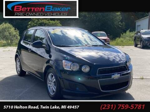 2012 Chevrolet Sonic for sale at Betten Baker Preowned Center in Twin Lake MI