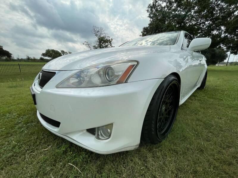 2008 Lexus IS 250 for sale at Carz Of Texas Auto Sales in San Antonio TX