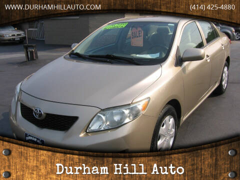 2009 Toyota Corolla for sale at Durham Hill Auto in Muskego WI