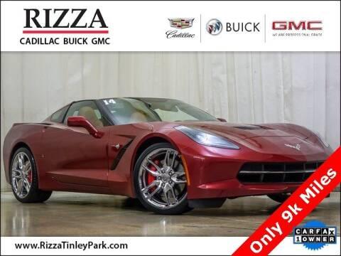 2014 Chevrolet Corvette for sale at Rizza Buick GMC Cadillac in Tinley Park IL