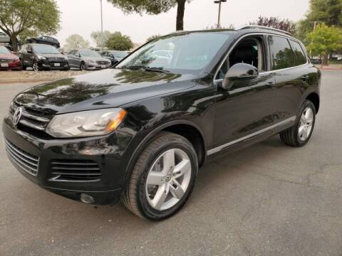 2013 Volkswagen Touareg for sale at Matador Motors in Sacramento CA