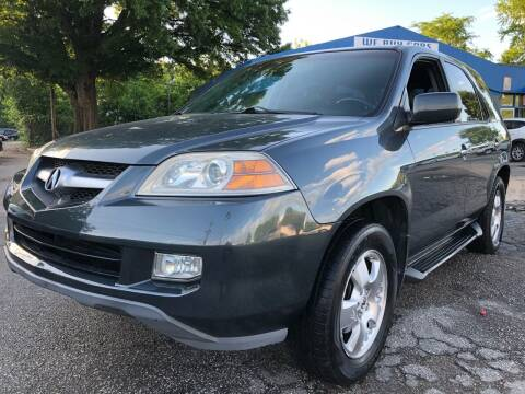 2006 Acura MDX for sale at Capital Motors in Raleigh NC