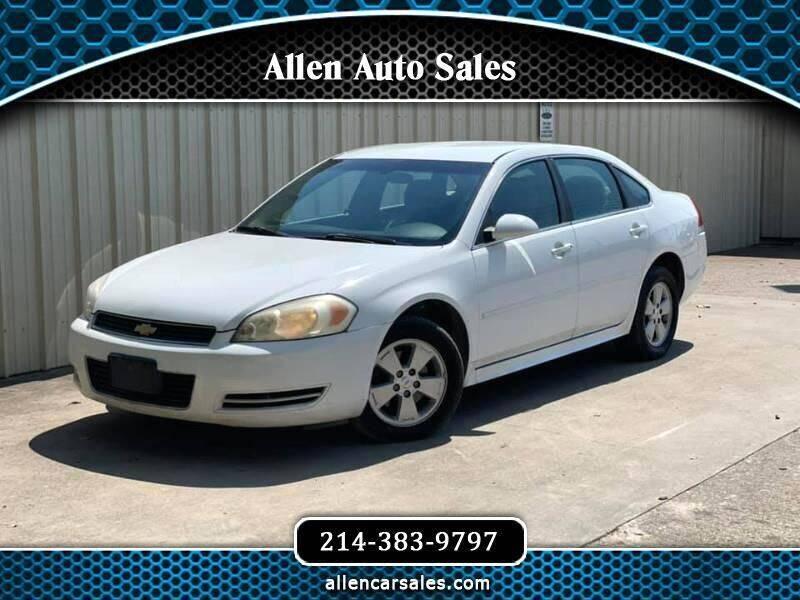 2011 Chevrolet Impala for sale at Allen Auto Sales in Dallas TX