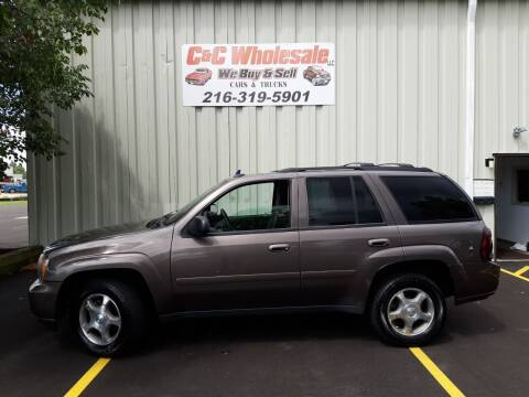 2008 Chevrolet TrailBlazer for sale at C & C Wholesale in Cleveland OH