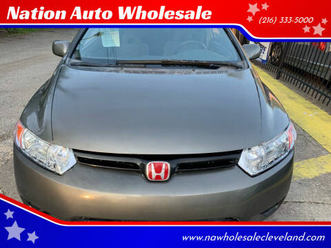 2008 Honda Civic for sale at Nation Auto Wholesale in Cleveland OH