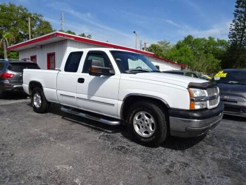 2004 Chevrolet Silverado 1500 for sale at DONNY MILLS AUTO SALES in Largo FL