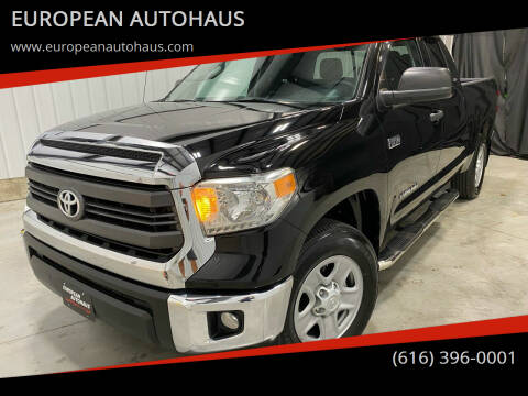 2014 Toyota Tundra for sale at EUROPEAN AUTOHAUS in Holland MI