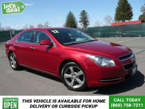 2012 Chevrolet Malibu for sale at Shamrock Motors in East Windsor CT