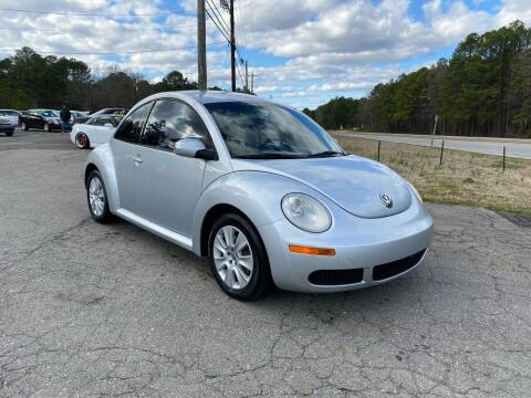 2008 Volkswagen New Beetle for sale at CVC AUTO SALES in Durham NC
