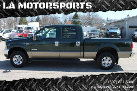 2003 Ford F-250 Super Duty for sale at LA MOTORSPORTS in Windom MN