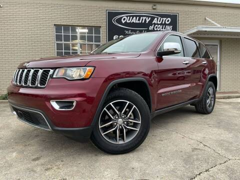 2018 Jeep Grand Cherokee for sale at Quality Auto of Collins in Collins MS