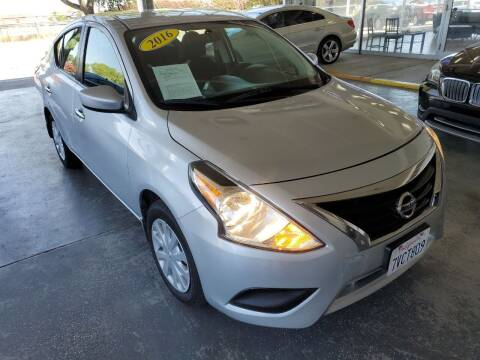 2016 Nissan Versa for sale at Sac River Auto in Davis CA