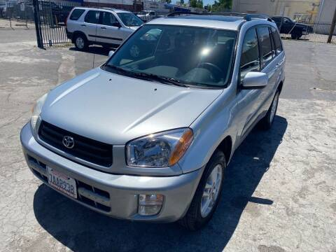 2001 Toyota RAV4 for sale at 101 Auto Sales in Sacramento CA