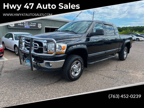 2006 Dodge Ram Pickup 1500 for sale at Hwy 47 Auto Sales in Saint Francis MN