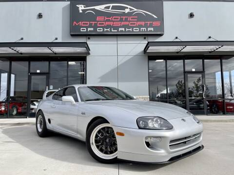 1997 Toyota Supra for sale at Exotic Motorsports of Oklahoma in Edmond OK