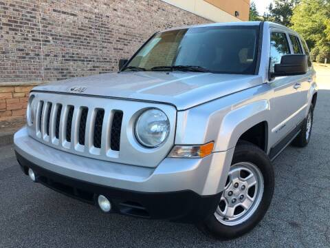2014 Jeep Patriot for sale at Gwinnett Luxury Motors in Buford GA