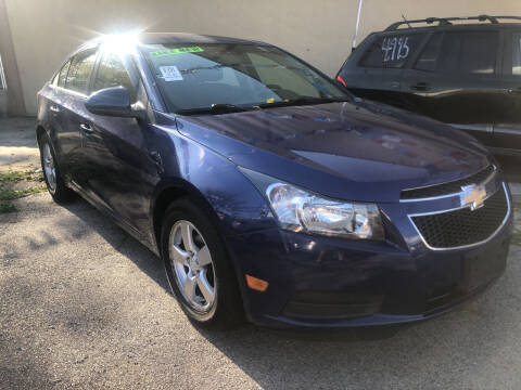 2012 Chevrolet Cruze for sale at GARET MOTORS in Maspeth NY