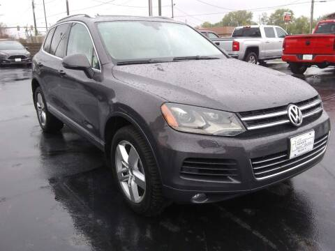2012 Volkswagen Touareg for sale at Village Auto Outlet in Milan IL