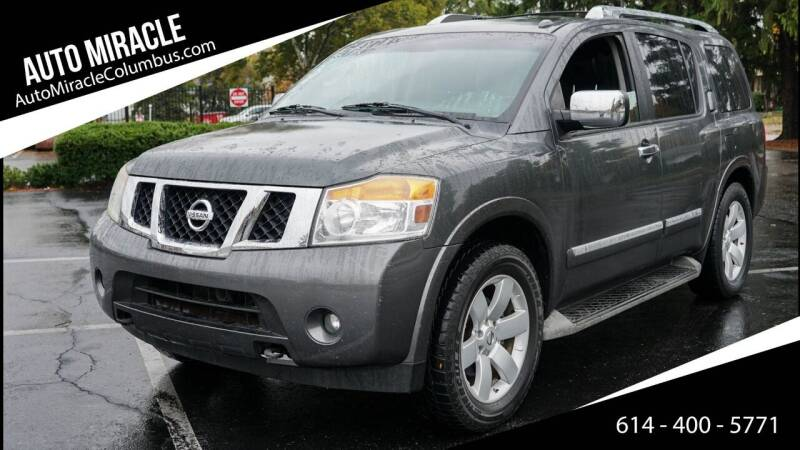2010 Nissan Armada for sale at Auto Miracle in Columbus OH