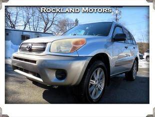 2004 Toyota RAV4 for sale at Rockland Automall - Rockland Motors in West Nyack NY