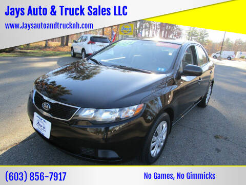 2013 Kia Forte for sale at Jays Auto & Truck Sales LLC in Loudon NH