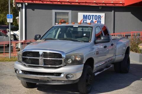 2008 Dodge Ram Pickup 3500 for sale at Motor Car Concepts II - Kirkman Location in Orlando FL