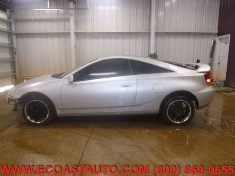 2001 Toyota Celica for sale at East Coast Auto Source Inc. in Bedford VA