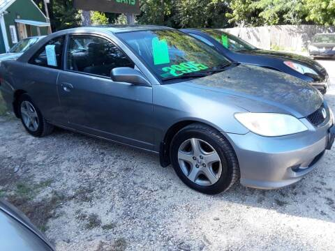2004 Honda Civic for sale at Northwoods Auto & Truck Sales in Machesney Park IL