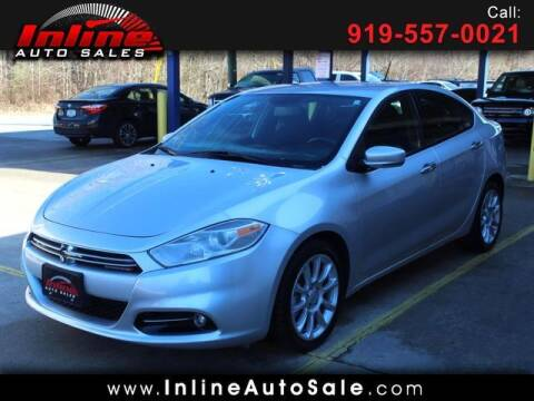 2013 Dodge Dart for sale at Inline Auto Sales in Fuquay Varina NC
