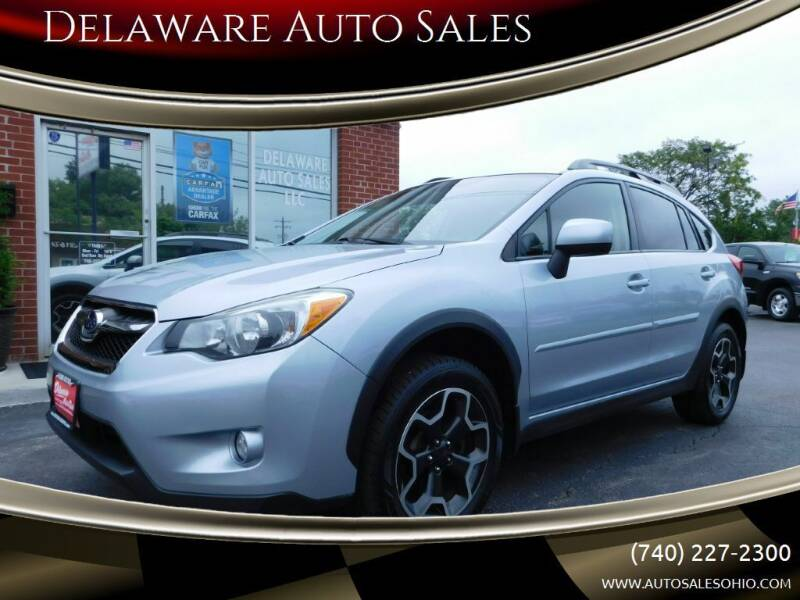 2014 Subaru XV Crosstrek for sale at Delaware Auto Sales in Delaware OH