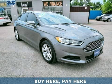 2014 Ford Fusion for sale at Stanley Automotive Finance Enterprise - STANLEY CHRYSLER DODGE JEEP RAM GATESVILLE in Gatesville TX