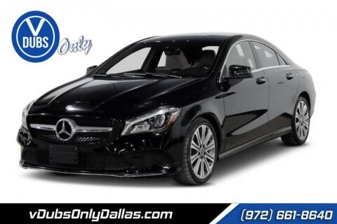 2018 Mercedes-Benz CLA for sale at VDUBS ONLY in Dallas TX