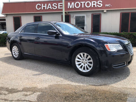 2012 Chrysler 300 for sale at Chase Motors Inc in Stafford TX