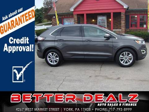 2015 Ford Edge for sale at Better Dealz Auto Sales & Finance in York PA