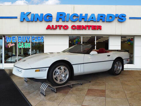 1990 Chevrolet Corvette for sale at KING RICHARDS AUTO CENTER in East Providence RI