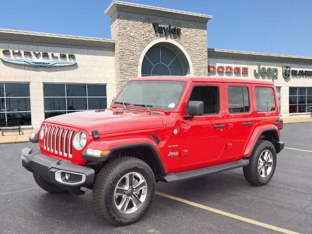 2021 Jeep Wrangler Unlimited for sale in Bradley, IL
