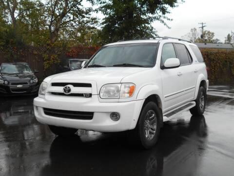 2007 Toyota Sequoia for sale at MT MORRIS AUTO SALES INC in Mount Morris MI