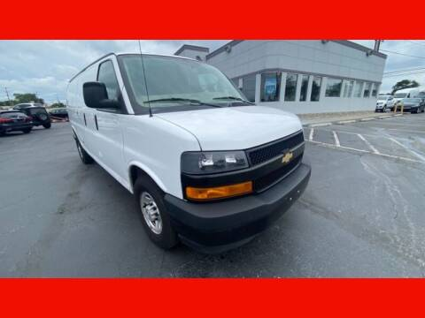 2018 Chevrolet Express Cargo for sale at AUTO POINT USED CARS in Rosedale MD