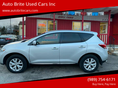 2014 Nissan Murano for sale at Auto Brite Used Cars Inc in Saginaw MI