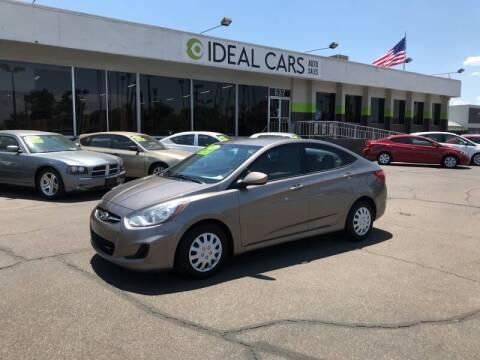 2013 Hyundai Accent for sale at Ideal Cars Apache Trail in Apache Junction AZ