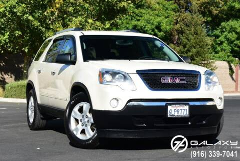 2010 GMC Acadia for sale at Galaxy Autosport in Sacramento CA