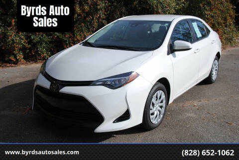 2018 Toyota Corolla for sale at Byrds Auto Sales in Marion NC
