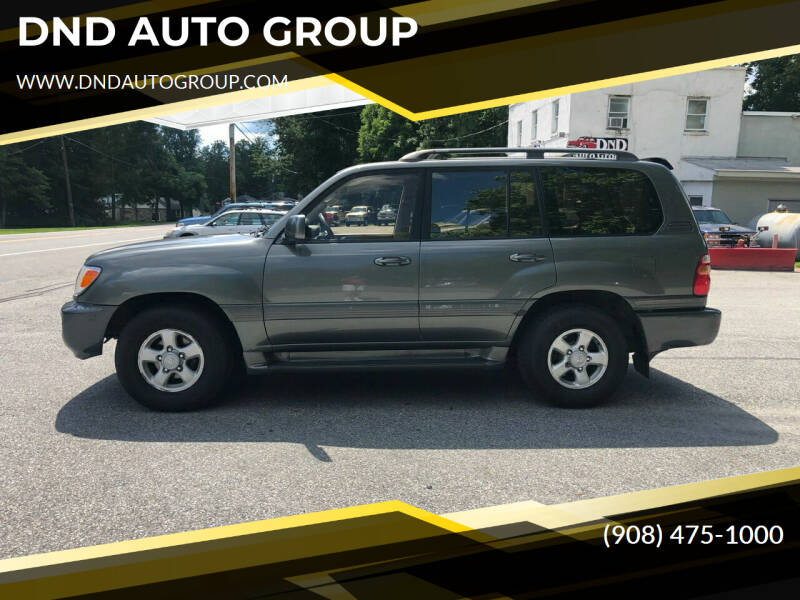 2000 Toyota Land Cruiser for sale at DND AUTO GROUP in Belvidere NJ