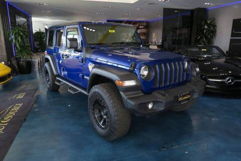 2018 Jeep Wrangler Unlimited for sale at OC Autosource in Costa Mesa CA