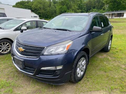 2013 Chevrolet Traverse for sale at Wright's Auto Sales LLC in Townshend VT