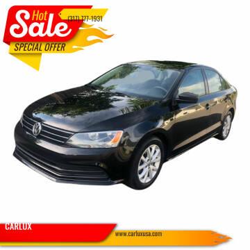 2015 Volkswagen Jetta for sale at CARLUX in Fortville IN