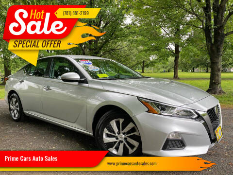 2020 Nissan Altima for sale at Prime Cars Auto Sales in Saugus MA