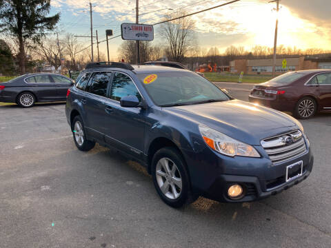 2013 Subaru Outback for sale at JERRY SIMON AUTO SALES in Cambridge NY