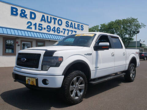 2013 Ford F-150 for sale at B & D Auto Sales Inc. in Fairless Hills PA