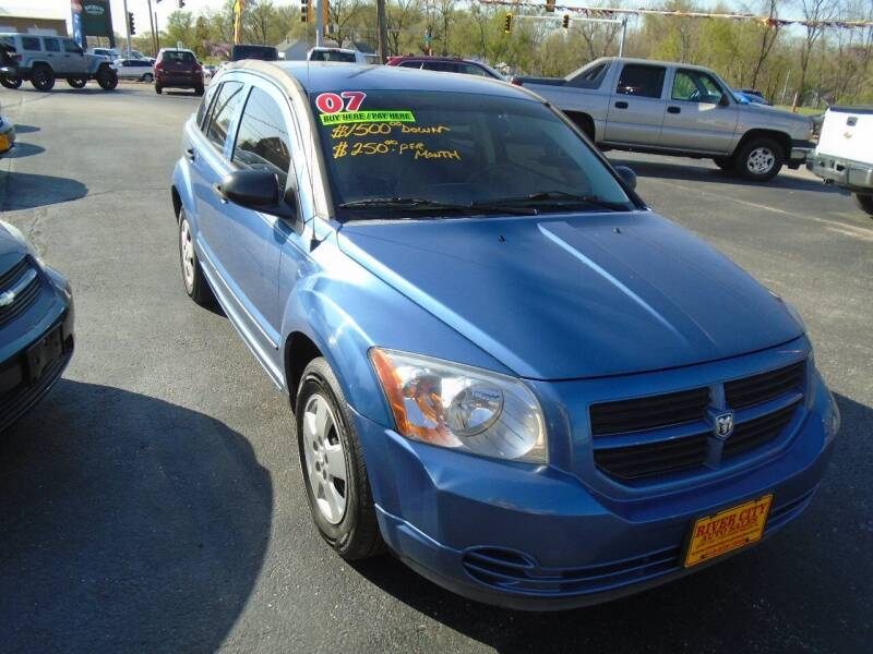 2007 Dodge Caliber for sale at River City Auto Sales in Cottage Hills IL